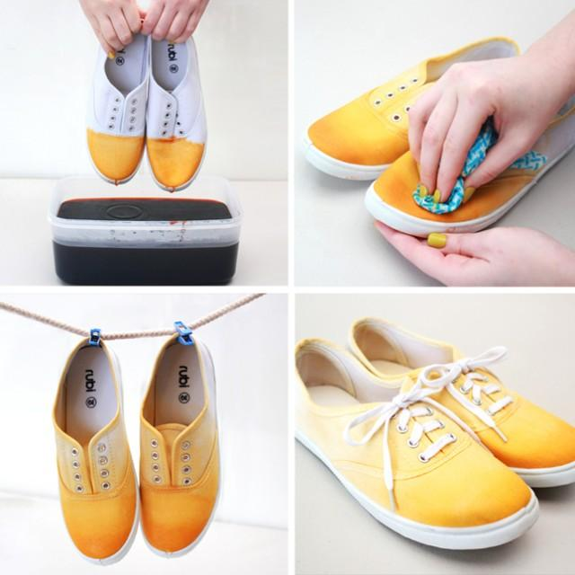 wedding photo - Add color to your shoes