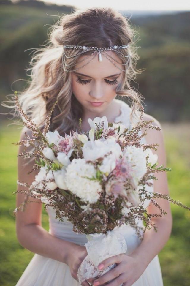 wedding photo - Brides in flowers!