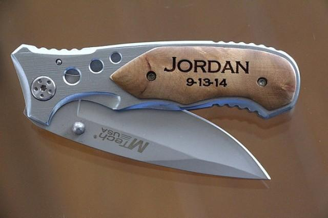 Wedding Gift Ideas For Bestman And Ushers: Groomsmen Knives, Gift For Groomsmen, Wedding Favors