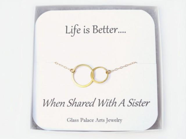Wedding Gift For Sister In Law : sister-in-law-gift-circle-necklace-sister-gift-necklace-sister-in-law ...
