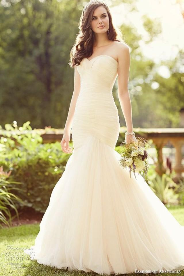 Essense of australia 2015 wedding dresses 2258033 weddbook for Essense of australia strapless long wedding dresses