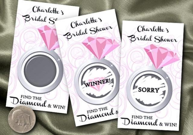 wedding photo - Party Scratch Off Card Games