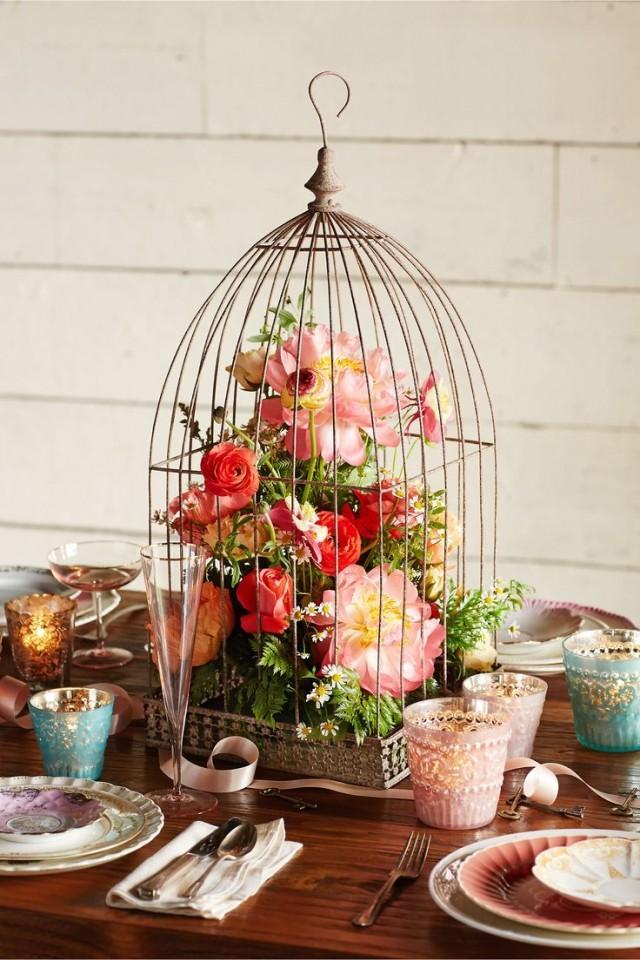Boho botanical bridal shower rustic garden party theme for Decoration theme jardin
