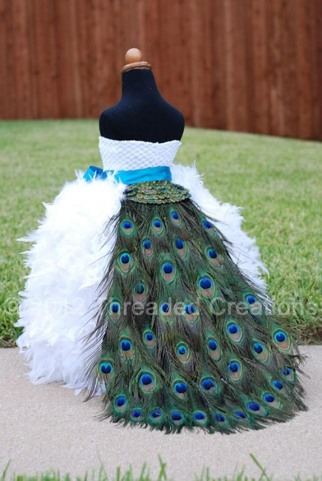 Peacock Train Peacock Feather Bustle Tail Peacock