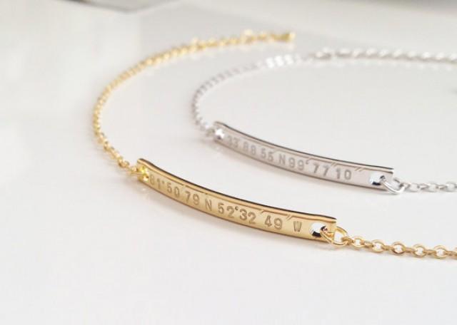 Super Dainty Gps Coordinate Bracelet, Personalized Gold. Emerald Stone Bracelet. Mens Single Stud Earrings. Garnet Diamond. Vintage Watches. Trendy Stud Earrings. Art Deco Stud Earrings. Saphire Earrings. Konstantino Cross Necklace