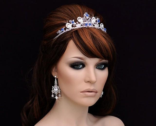Something Blue Headband , Wedding Headband , Bridal