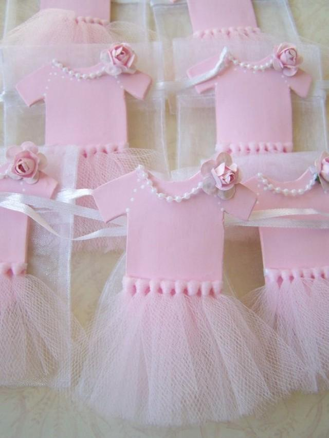 baby girl ballerina tutu favor bags 10 pieces 2265459 weddbook