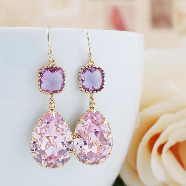 Rosaline Pink Swarovski Crystal Gold Filled Earrings. Kwintas Pendant. Lucky Clover Pendant. 9ct Pendant. Letter G Pendant. Mourning Pendant. Death Gold Pendant. Arrow Pendant. Wire Wrapping Pendant
