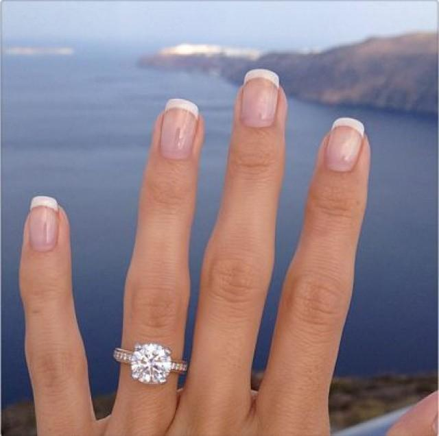 Real engagement ring selfies from real brides 2266272 for Real wedding ring