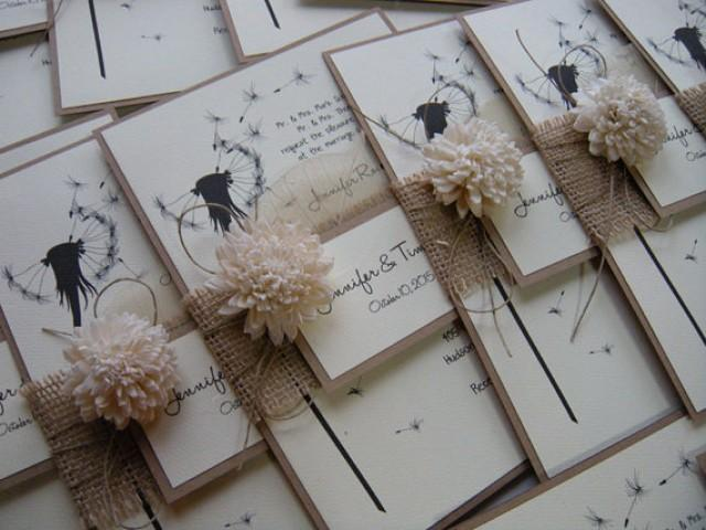 Jrtdaisy Weddbook – Etsy Rustic Wedding Invitations