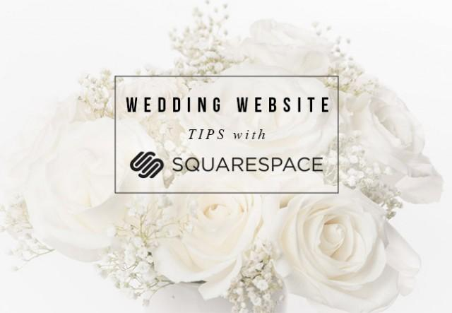 wedding website tips with squarespace weddbook