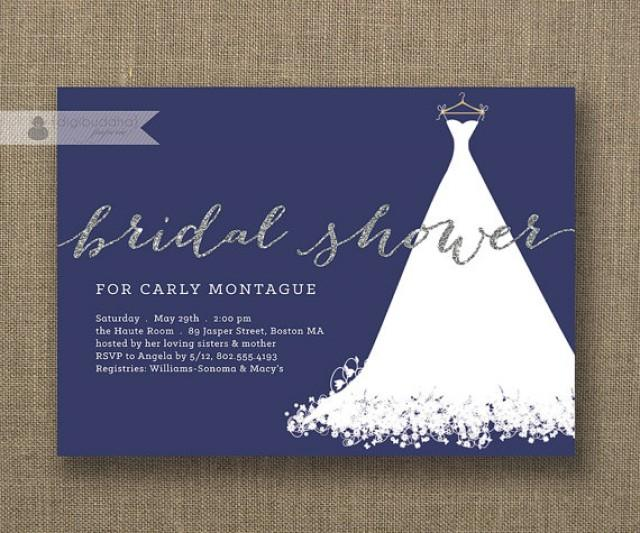 Silver And Blue Wedding Invitations with best invitations design