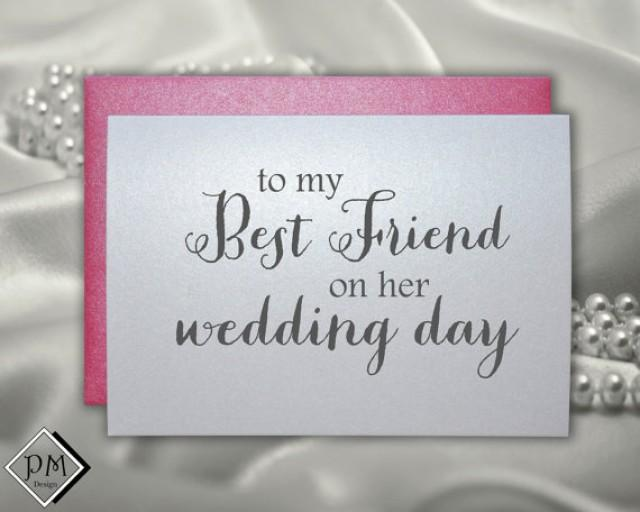 Wedding Gift For Bride From Best Friend : Wedding Gifts For Bride From Best Friend Wedding Card to Best Friend