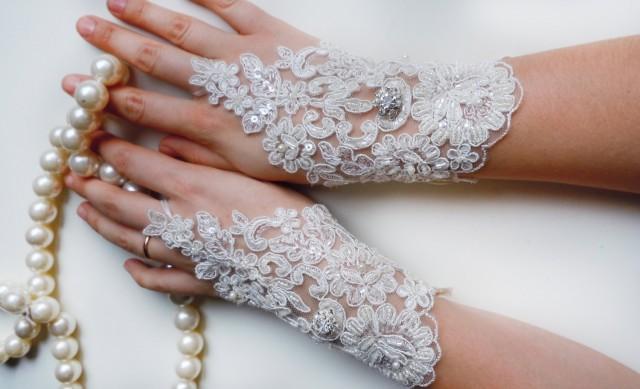 wedding photo - Wedding Gloves