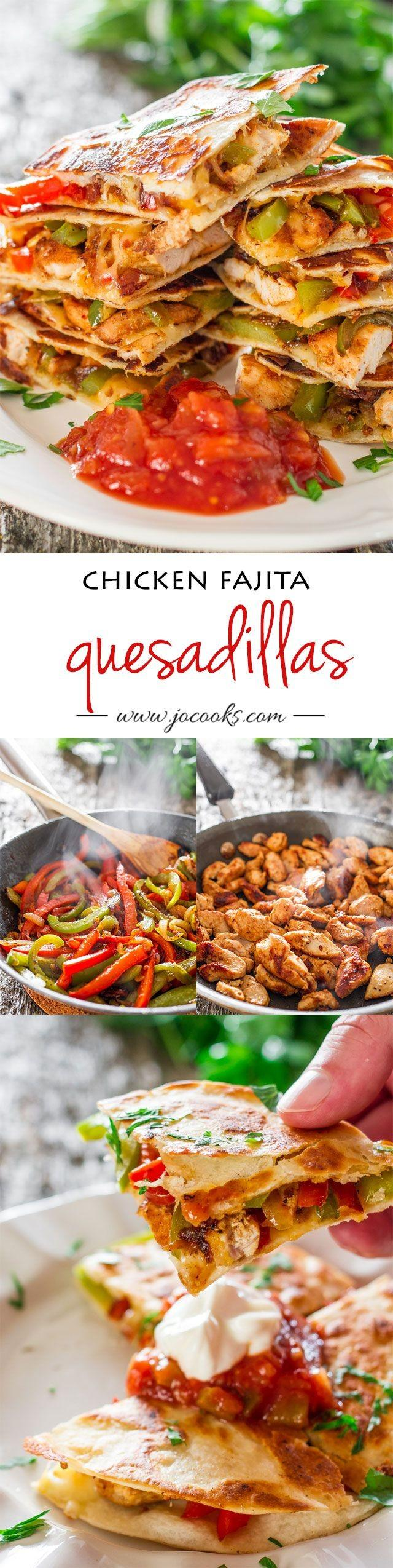 Wedding Theme - Chicken Fajita Quesadillas #2269861 - Weddbook