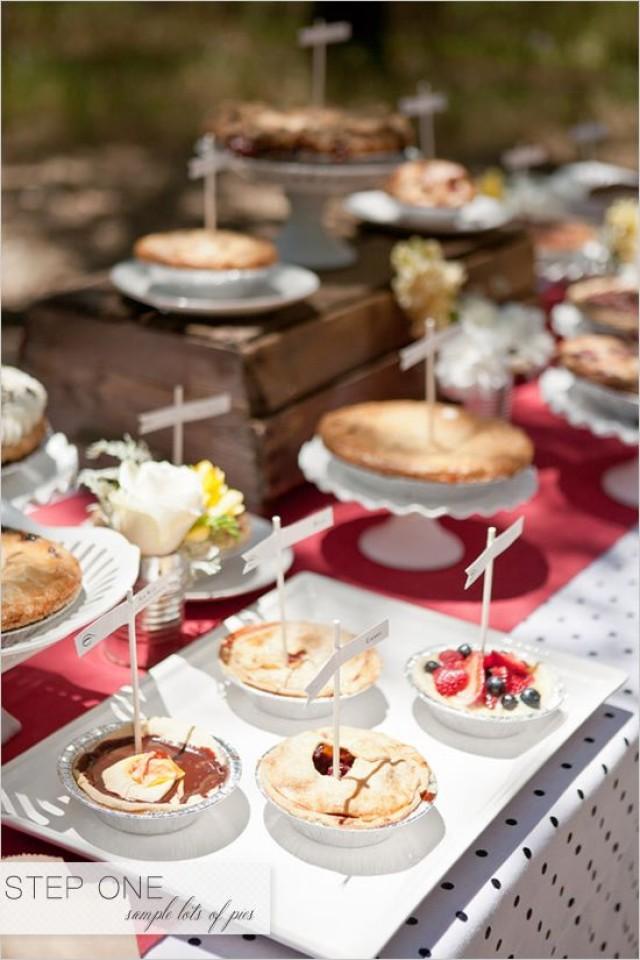Food favor dessert bar 2270422 weddbook - Desserte bar cuisine ...