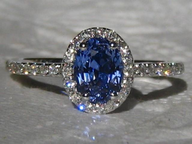 how to know blue sapphire is real