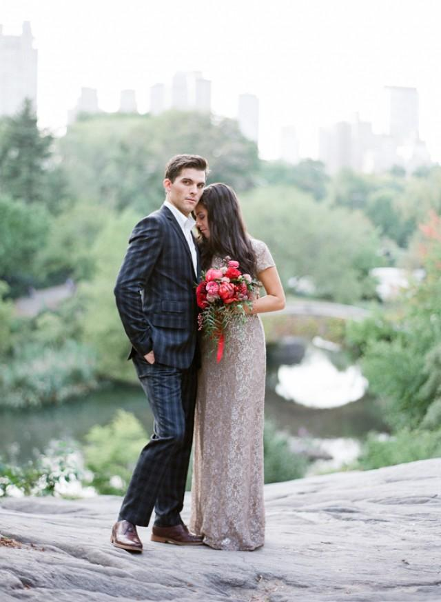 Chic And Timeless New York City Elopement