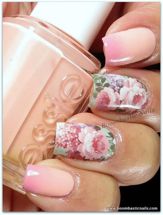 цветочные ногти фото