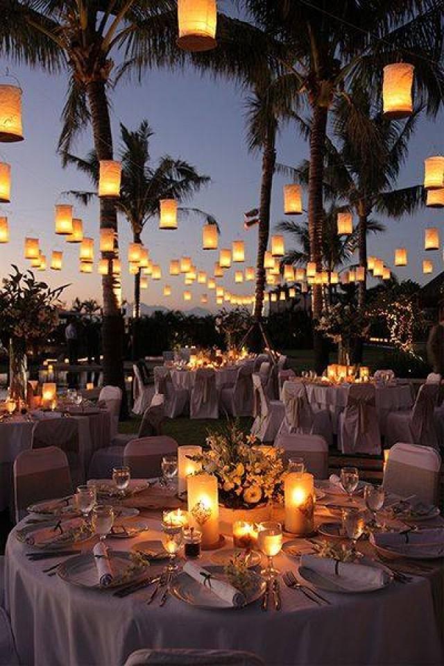 wedding photo - Romantic wedding ceremony