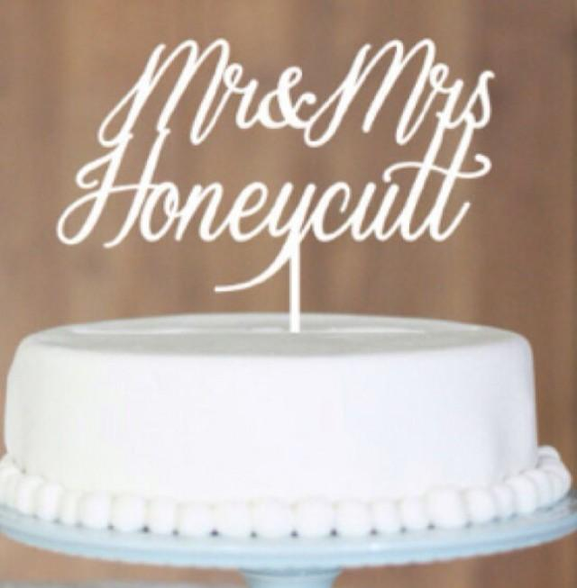 Personalise Wedding Cake Toppers