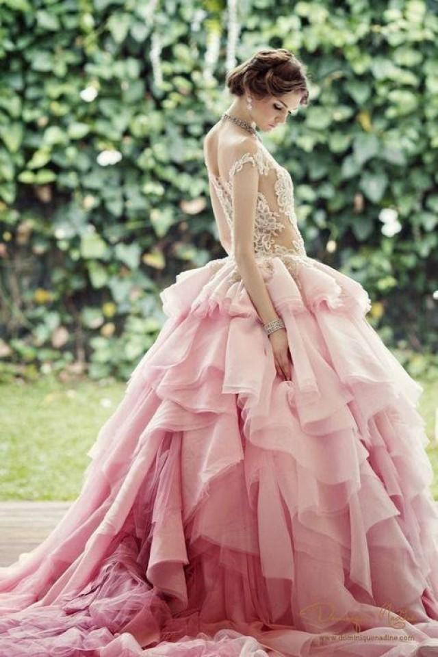 wedding photo - Gorgeous Pink Style