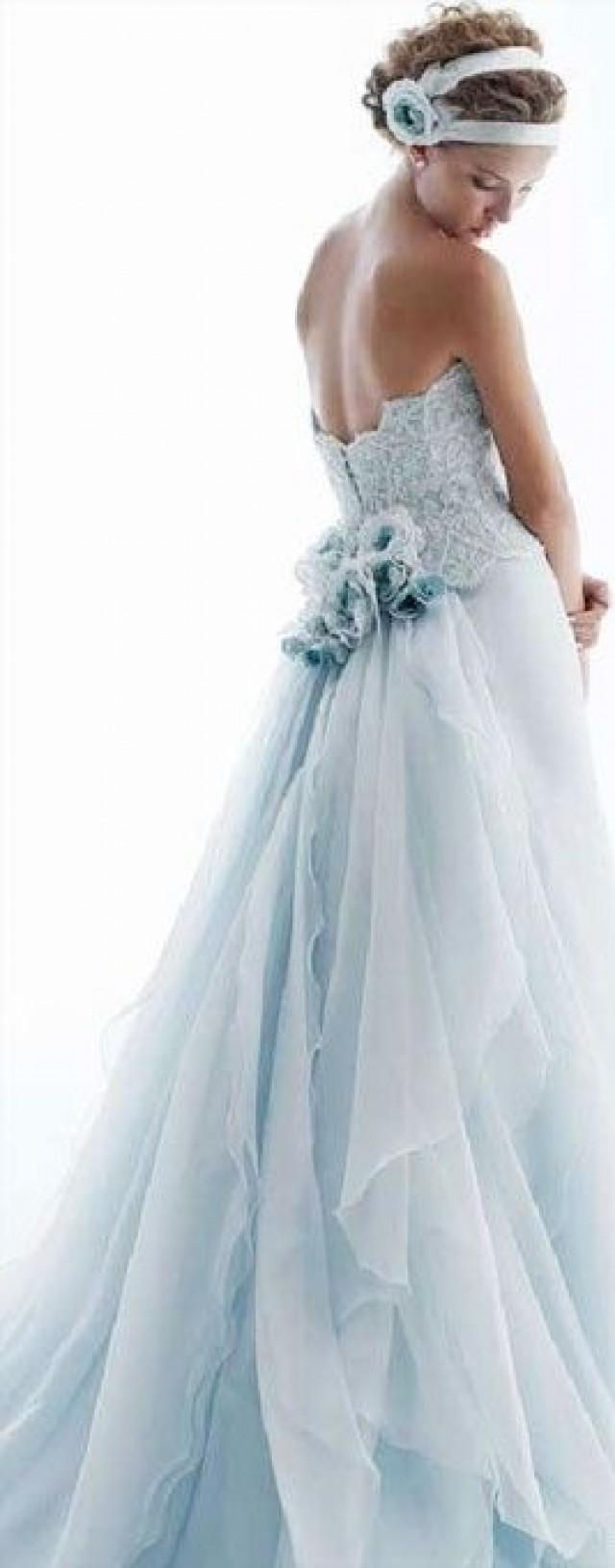 Dress say yes to the dress 2274667 weddbook for Ice blue wedding dress