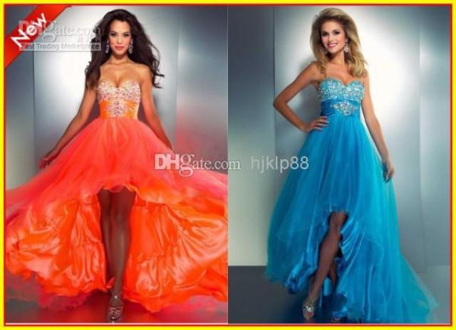 Talk this blue and orange prom dresses topic What