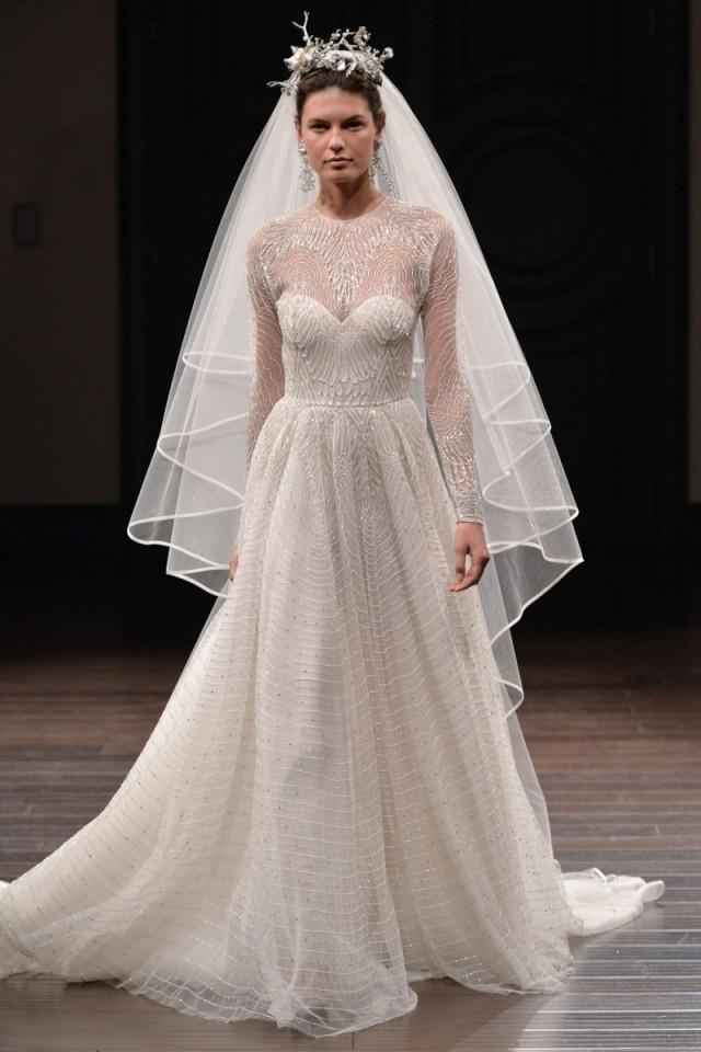 Naeem khan spring 2016 wedding dresses weddbook for Naeem khan wedding dress