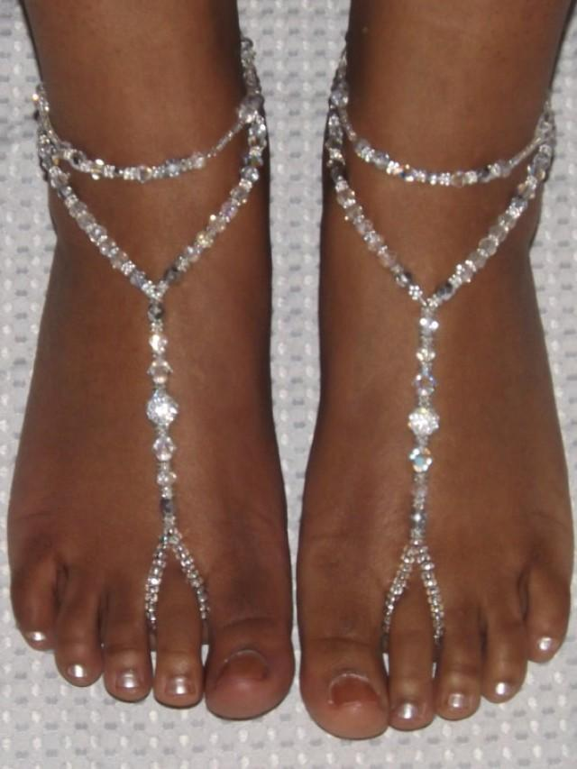 Beach Wedding Barefoot Sandals Foot Jewelry Anklet ...