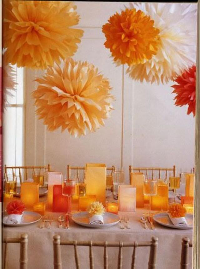 Fall wedding party centerpiece projects