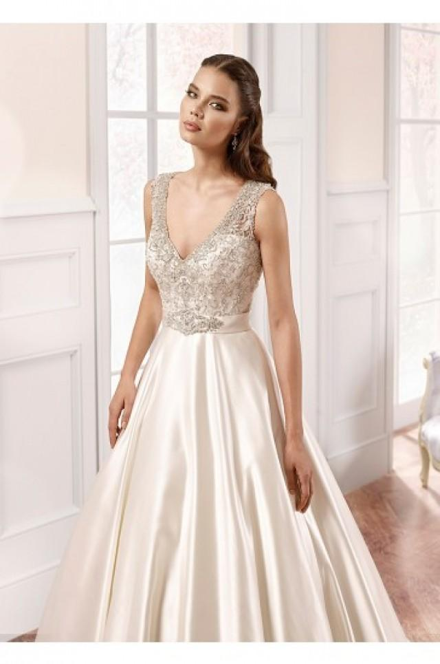 wedding photo - Eddy K Milano Wedding Gowns 2015 Style MD57ST