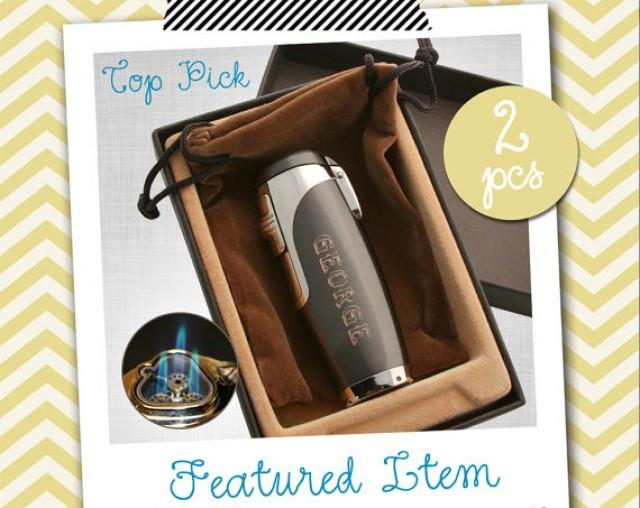 Personalized Wedding Gifts For Groomsmen: 2 Groomsmen Gifts PERSONALIZED Lighters Engraved Lighters