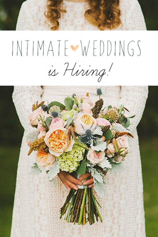Intimate weddings is hiring intimate weddings small for Wedding ideas for small weddings