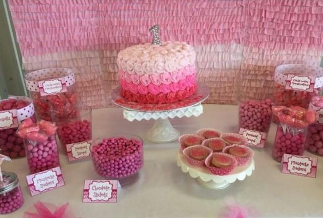 Matrimonio Tema Idea : Matrimonio a tema pink birthday party ideas