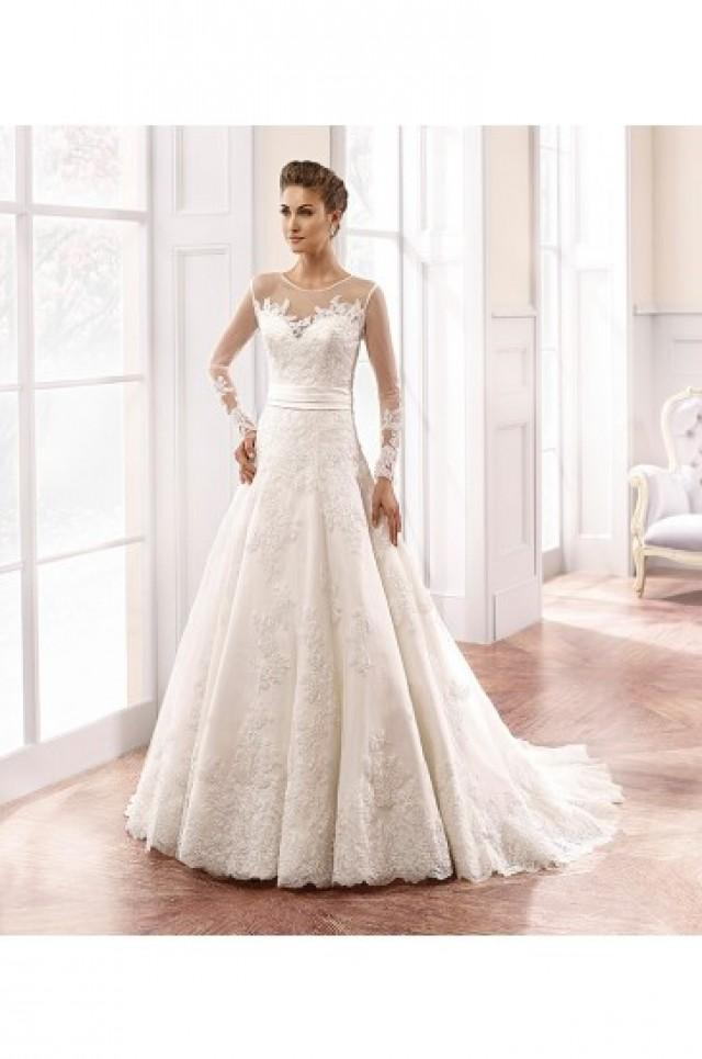 wedding photo - Eddy K Milano Wedding Gowns 2015 Style MD158