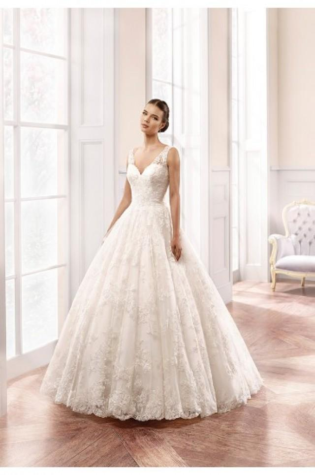 wedding photo - Eddy K Milano Wedding Gowns 2015 Style MD159