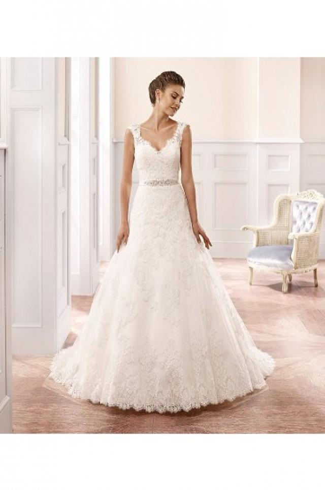 wedding photo - Eddy K Milano Wedding Gowns 2015 Style MD161