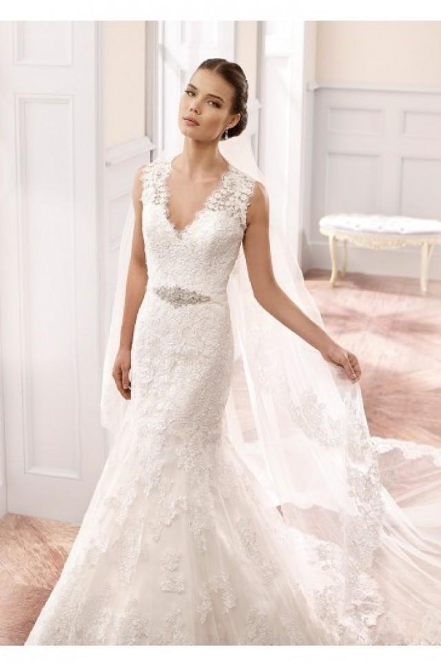 wedding photo - Eddy K Milano Wedding Gowns 2015 Style MD162