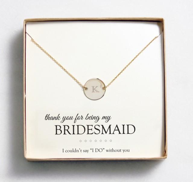 wedding photo - Bridesmaid Gift
