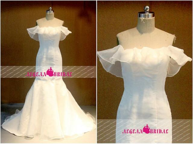 Wedding Dress Lace Up Kit : Rw off shoulder wedding dress mermaid bridal