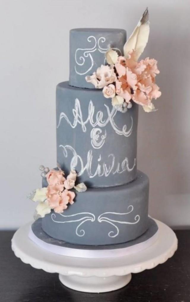 The Hottest 2015 Wedding Trend 30 Chalkboard Wedding
