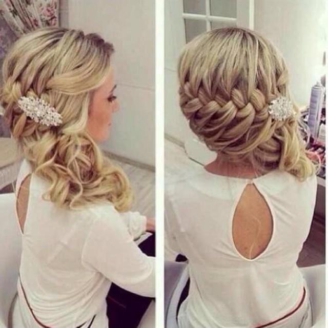 wedding photo - Braided Wedding Hairstyle