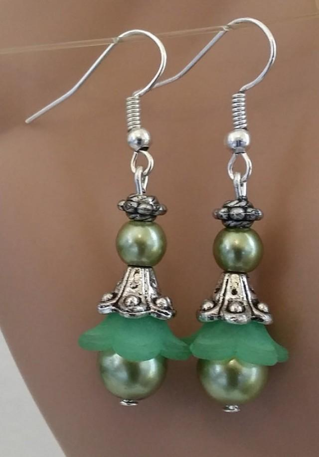 Etsy Glass Earrings