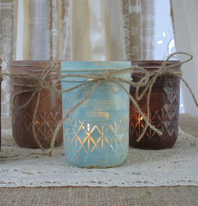 Mason Jars Votive Candle Holders Jar Candles
