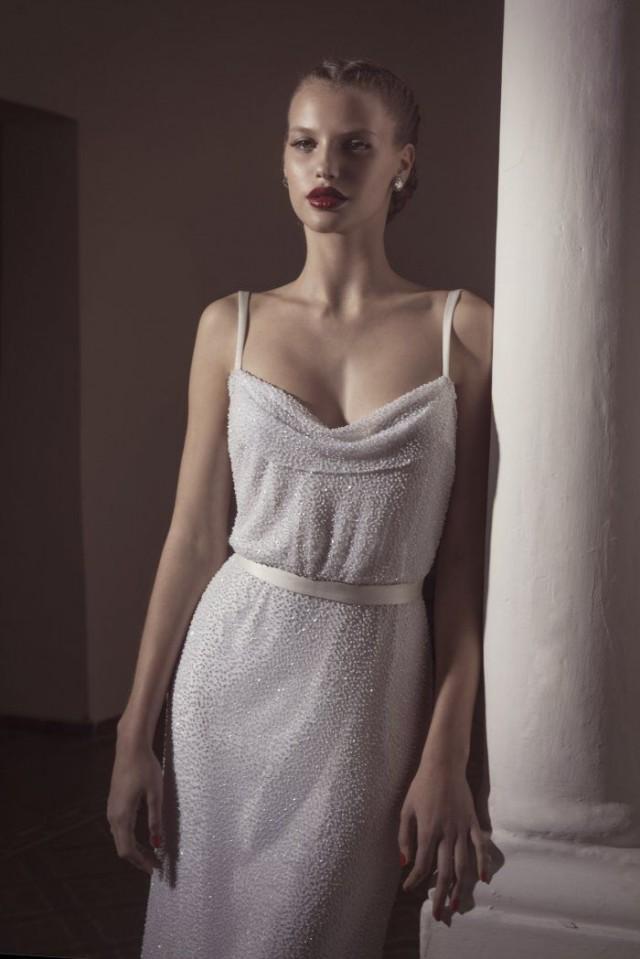 Dress - Sleeveless Wedding Gown Inspiration #2282253 - Weddbook