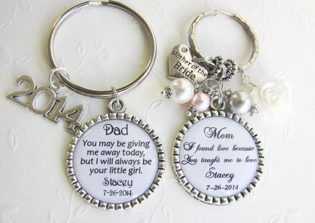 Wedding Present For Father Of The Bride : SET For MOTHER And FATHER Of The Bride Gift Set Of 2 Personalized ...