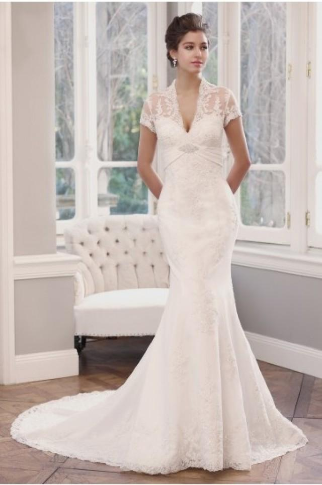 Mia Solano Lace Slim A Line Wedding Dress 2284595 Weddbook