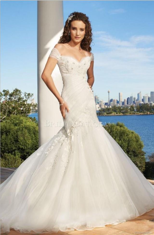 Mermaid Wedding Dress With Straps : Fashion beaded organza mermaid wedding dresses with