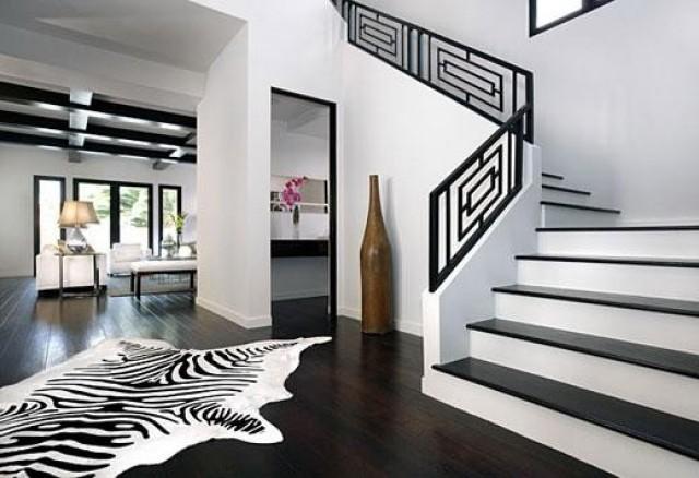 wedding photo - ZAPPRIX (TM) Genuine Zebra Cowhide Rug